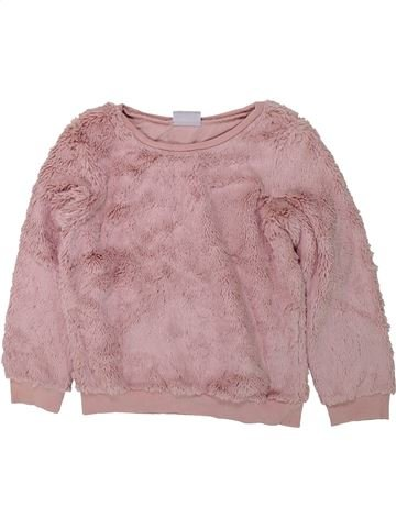 Pull fille I LOVE GIRLSWEAR rose 7 ans hiver #1422978_1