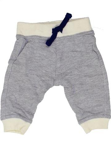 Pantalon garçon LILY & DAN gris 3 mois hiver #1423020_1