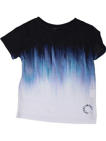 T-shirt manches courtes garçon RIVER ISLAND noir 2 ans été #1423108_1