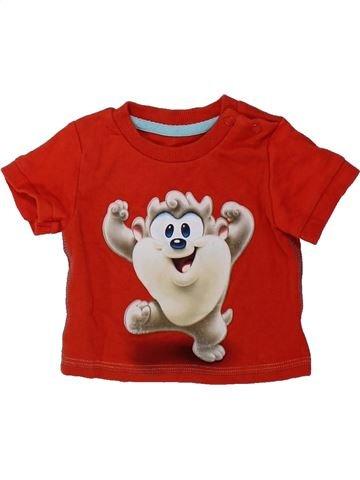 Camiseta de manga corta niño GEORGE rojo 0 meses verano #1423231_1