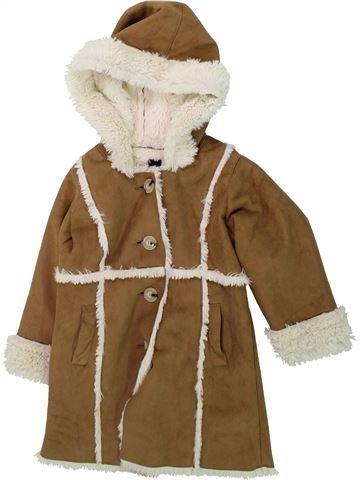 Abrigo niña GAP marrón 3 años invierno #1423561_1