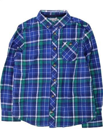 Chemise manches longues garçon BOYS bleu 9 ans hiver #1423721_1