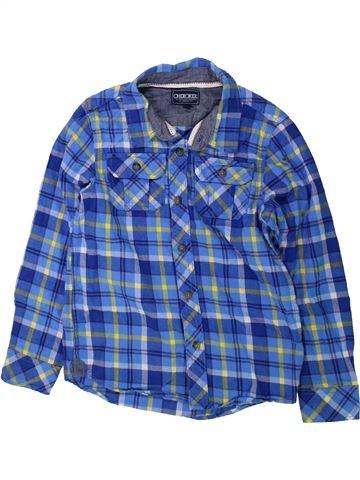 Chemise manches longues garçon CHEROKEE bleu 8 ans hiver #1423821_1