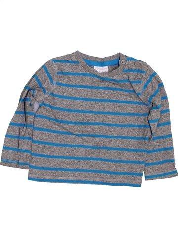Camiseta de manga larga niño F&F azul 9 meses invierno #1423941_1