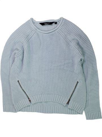 Pull fille NEW LOOK gris 11 ans hiver #1424029_1