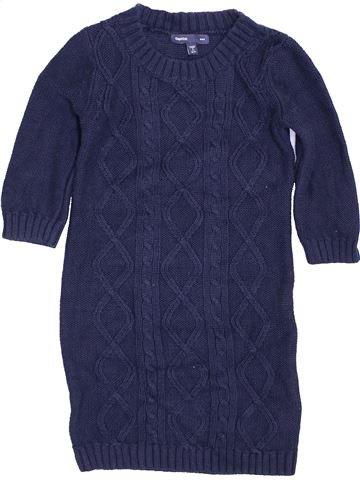 Vestido niña GAP azul 7 años invierno #1424300_1