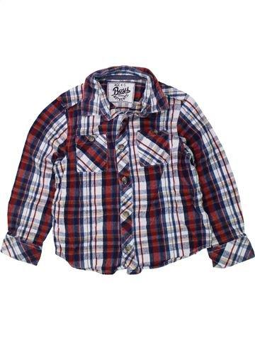 Chemise manches longues garçon BOYS violet 5 ans hiver #1424335_1
