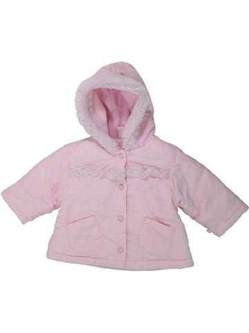Manteau fille LITTLE BUNDLE rose 6 mois hiver #1424368_1