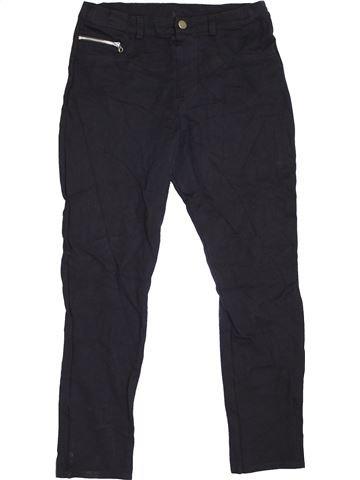 Pantalon fille RIVER ISLAND bleu foncé 12 ans hiver #1424379_1