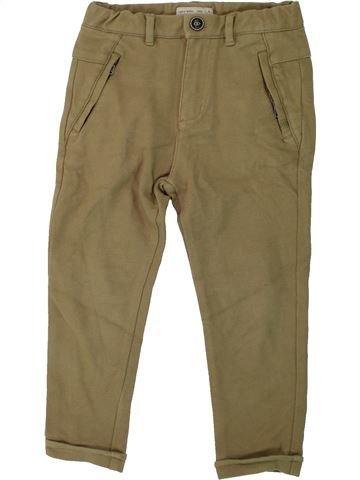 Pantalón niño ZARA marrón 6 años invierno #1424445_1