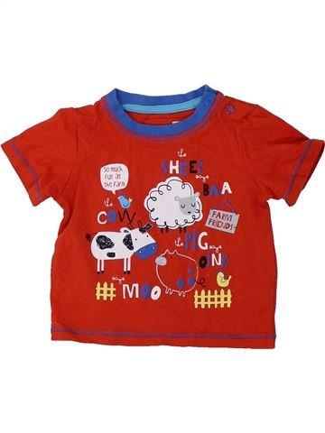 Camiseta de manga corta niño TU rojo 6 meses verano #1424495_1
