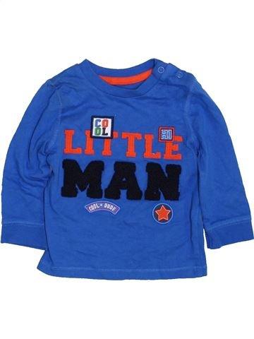 Camiseta de manga larga niño F&F azul 6 meses invierno #1424660_1