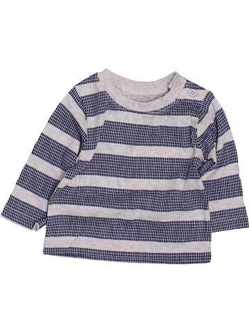 Camiseta de manga larga niño F&F azul 1 mes invierno #1424793_1