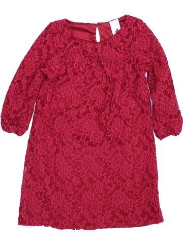 Vestido niña C&A rojo 7 años invierno #1424812_1