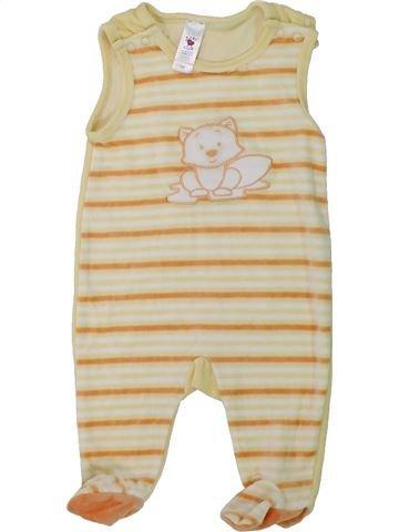 Pijama de 1 pieza unisex C&A beige 1 mes invierno #1424862_1