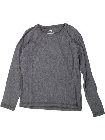 T-shirt manches longues garçon PEPPERTS gris 10 ans hiver #1425342_1