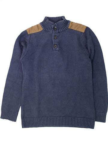 Pull garçon C&A bleu 8 ans hiver #1425355_1
