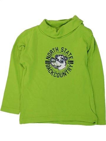 Camiseta de cuello alto niño IMPIDIMPI verde 3 años invierno #1425510_1