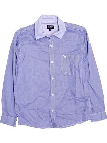 Chemise manches longues garçon JBC bleu 12 ans hiver #1425697_1