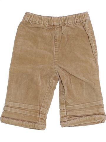 Pantalon fille PUDDING marron 12 mois hiver #1425768_1