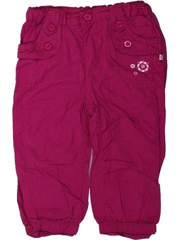 Pantalon fille OKAY violet 2 ans hiver #1425786_1