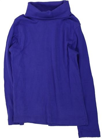 Camiseta de cuello alto niña LUPILU azul 6 años invierno #1425873_1