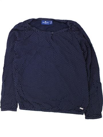 Blouse manches longues fille TOM TAILOR bleu 10 ans hiver #1425907_1