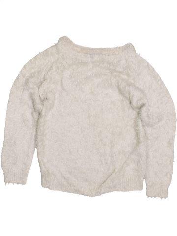 Pull fille JBC blanc 6 ans hiver #1425919_1