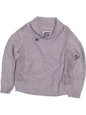 Pull garçon C&A gris 4 ans hiver #1425960_1