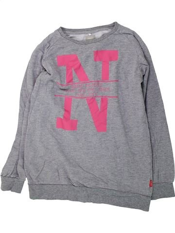 Sweat fille NAME IT gris 12 ans hiver #1426185_1