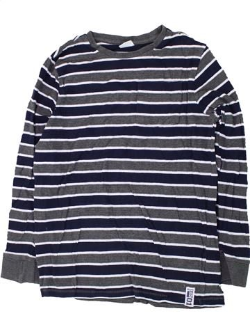 T-shirt manches longues garçon F&F bleu 12 ans hiver #1426234_1
