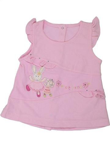 T-shirt sans manches fille SANS MARQUE rose 3 ans été #1426362_1