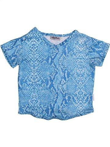 Camiseta de manga corta niña ALPHABET azul 10 años verano #1426365_1