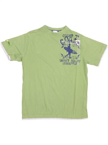 T-shirt manches courtes garçon TCM vert 10 ans été #1426378_1
