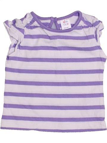Camiseta de manga corta niña MINI CLUB blanco 9 meses verano #1426539_1