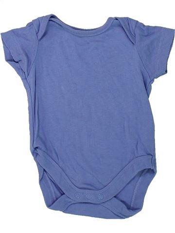 T-shirt manches courtes garçon M&CO bleu 6 mois été #1426652_1