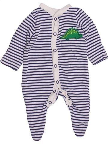 Pyjama 1 pièce garçon MOTHERCARE gris prématuré hiver #1426700_1