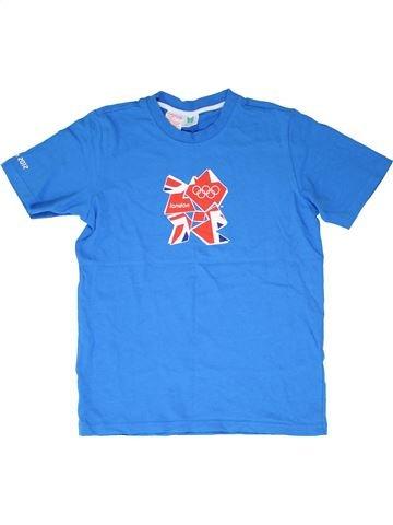 T-shirt manches courtes garçon LONDON 2012 bleu 14 ans été #1426839_1