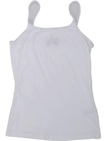 Camiseta sin mangas niña CANDY COUTURE blanco 13 años verano #1426861_1