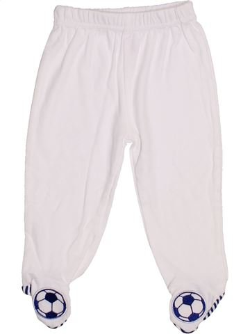 Pantalon garçon SANS MARQUE blanc 6 mois été #1428405_1