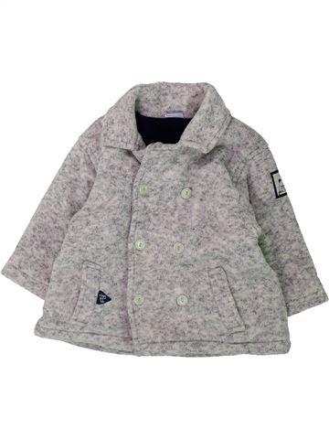 Veste garçon 3 POMMES gris 12 mois hiver #1428813_1