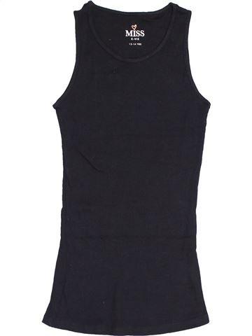 T-shirt sans manches fille MISS E-VIE bleu foncé 14 ans été #1429127_1