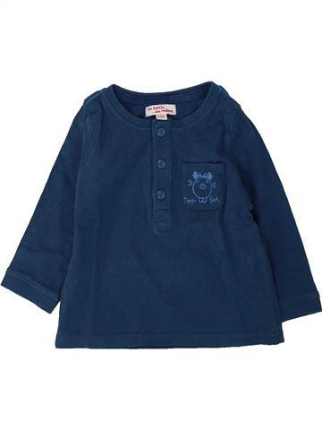 Camiseta de manga larga niño DPAM verde 12 meses invierno #1429350_1