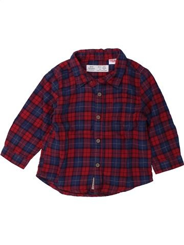 Chemise manches longues garçon ZARA marron 9 mois hiver #1429351_1