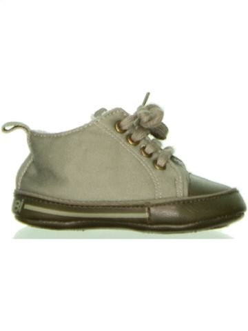 Zapatos bebe niño OKAIDI verde 6 meses invierno #1429376_1