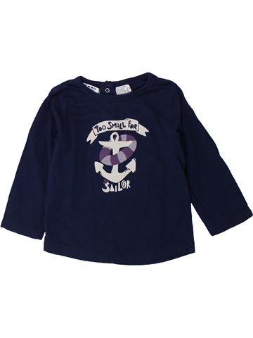 Camiseta de manga larga niño LA REDOUTE CRÉATION negro 12 meses invierno #1429414_1