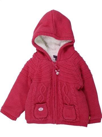 Veste fille SERGENT MAJOR rouge 12 mois hiver #1429601_1