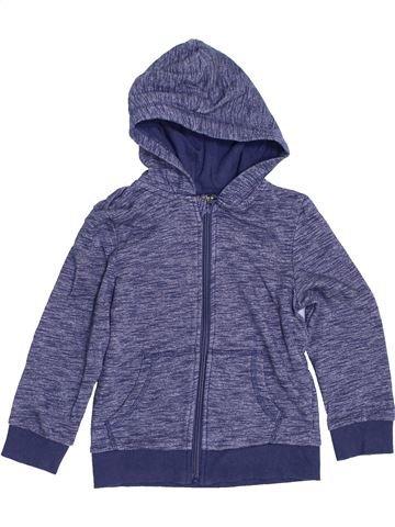 Sweat garçon LILY & DAN bleu 6 ans hiver #1429691_1