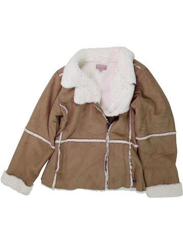 Manteau fille LISA ROSE marron 10 ans hiver #1429768_1