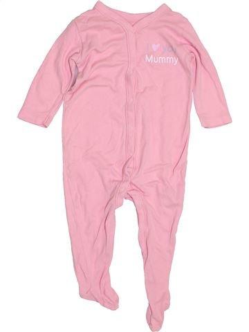 Pyjama 1 pièce fille NUTMEG rose 12 mois hiver #1429960_1